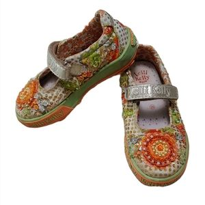 Lelli Kelly Floral Beaded Embellished Mary Janes